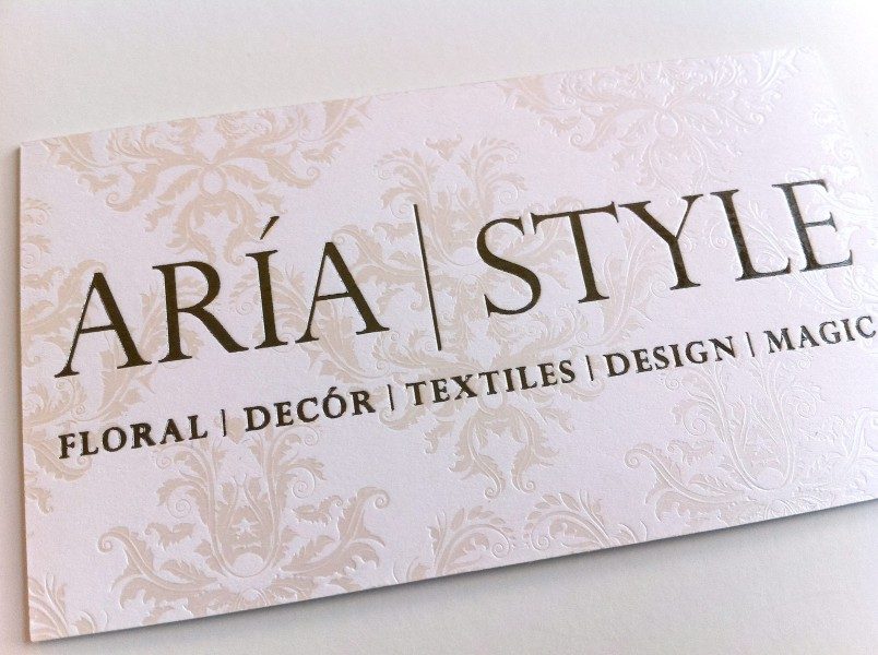 Aria Biz Card